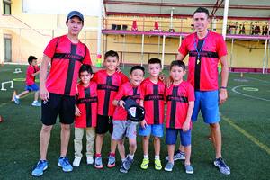 11082017 CURSO DE VERANO.  Martín, Leonardo, Dasa, Emiliano, Brian, Gabriel y Edson.