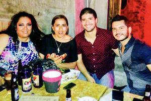 13082017 Jessica, Liliana, Lalo y Aldo.