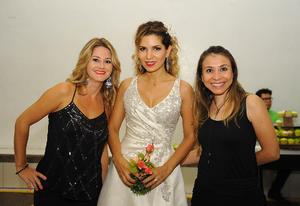14082017 Natalia Sañudo, Erika Monsivais y Dessire Gutiérrez.