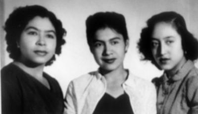 13082017 Socorro García, María Domínguez García y María del J. García en 1953.