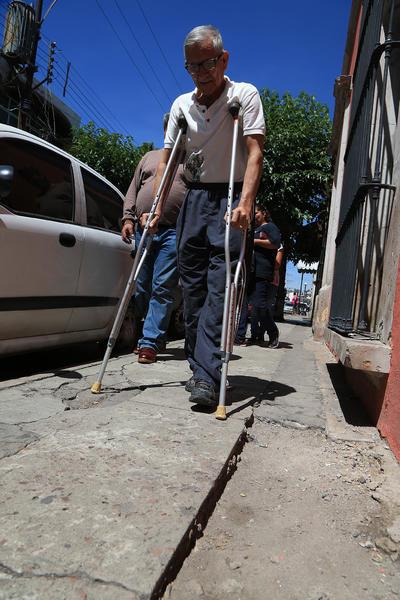 Las personas con discapacidad están entre las más afectadas por el deterioro.