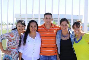 15082017 Liz, Nuria, Alejandro, Mayte y Paty.