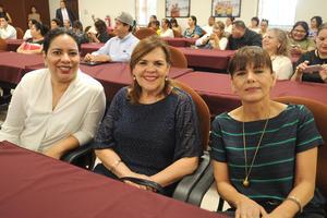 16082017 Nadia Rodríguez, Mayoya de Siller y Sandra Rodríguez de los Centros Pi Pao y Casa del Niño.