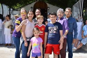 16082017 Familias Martínez González, Tijerina Martínez y González Guajardo.