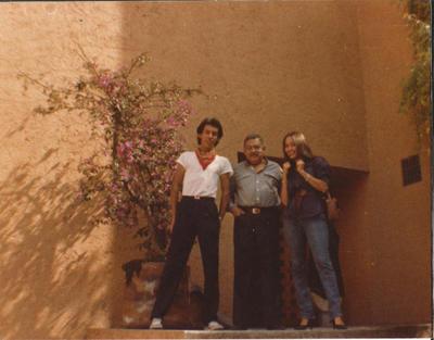 16082017 CALLEJÓN DE LAS CRUCES, CASA ESTUDIO DE PEDRO CORONEL. PROYECTO DEL ARQ. LUIS BARRAGÁN EN SAN JERÓNIMO, EDUARDO RUIZ PEDRO CORONEL Y JANET RUIZ 1985.
