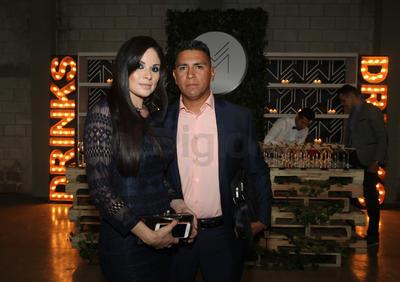 Pamela Tinoco y Juan Manuel Vargas.
