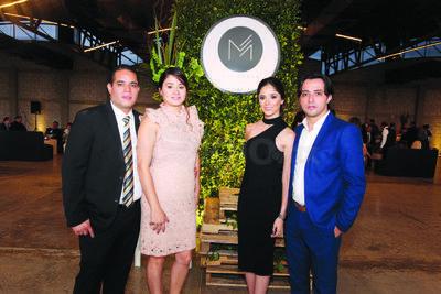 Marco Galindo, Karla Tovar,Judith Díaz y Óscar Díaz.