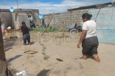 Un centenar de viviendas sufrieron daños considerables.