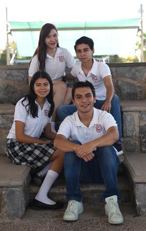 18082017 Pilar, Alan, Alejandra e Iván.