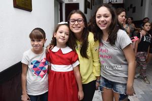 18082017 Emma, Roberta, Melisa y Daniela.