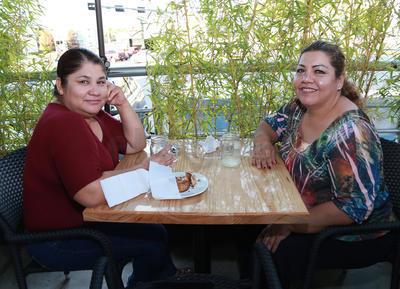 Araceli y Mónica.