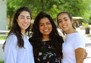 Luisa, María y Tere