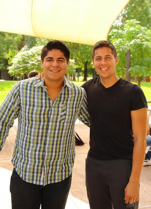 Ricardo Ibarra y Ricardo Calderón