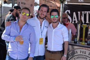 Cedric, Armando y Luis