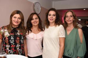 Arlette, Paula, Verónica y Laura