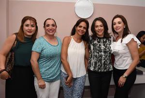 Mónica, Tere, Any, Marisa y María
