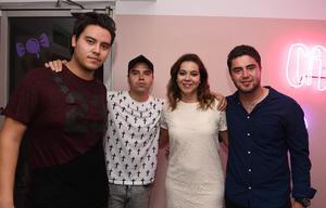 Ricardo, Paco, Vero y Andrés