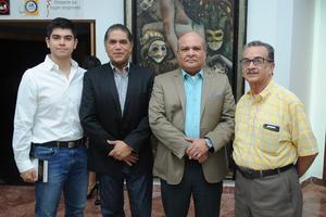19082017 Ernesto Antonio, Ernesto, Luis y Jesús Máximo.