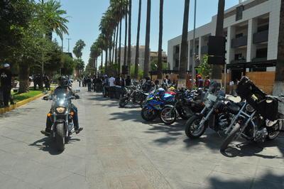 Avanzaron por una parte del Paseo Morelos.