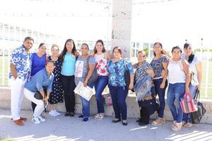 21082017 SE PREPARAN.  Maestros del Instituto Británico de Torreón en su Semana de Pedagogía.