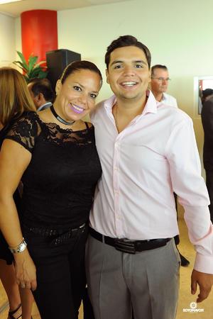 21082017 Gera Sotomayor con su hijo, Jorge.