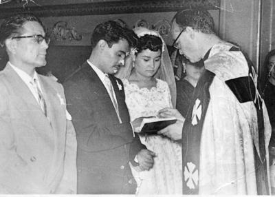 20082017 Rubén Gurrola Arjona y Olivia Sánchez Camacho el pasado 2 de agosto cumplieron 57 años de casados.