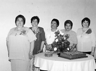20082017 Dorita León Lomas (f), Evita González Dávalos, Juana María Cortez, Consuelo Sandoval de Ríos y Rosita Acosta de Maury.