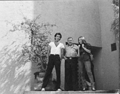 20082017 Casa Estudio de Pedro Coronel. Proyecto del Arq. Luis Barragán, en San Jerónimo, Eduardo Ruiz, Pedro Coronel y Janet Ruiz, en 1985.