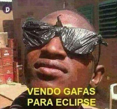 Viene el eclipse solar... y los memes también