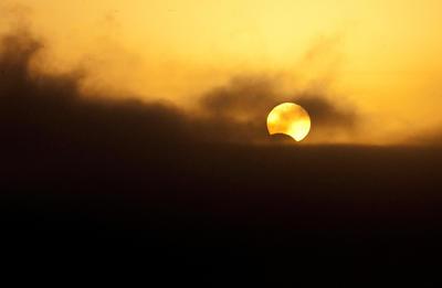El acontecimiento tardó una hora y media en recorrer el cielo desde la costa del Pacífico hasta el Atlántico.