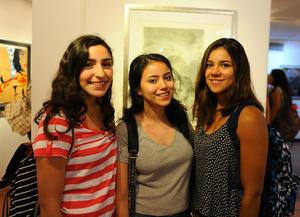 22082017 Paola Escárcega, Julia García y Mónica Martínez.