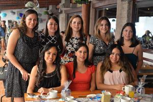 22082017 Karina, Miriam, Ada, Pilar, Lorena, Coy, Gladys y Bárbara.