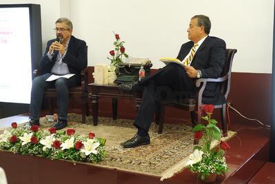 Los comentarios en la presentación estuvieron a cargo de Domingo Deras y Gregorio Muñoz, colaboradores de esta Casa Editora.