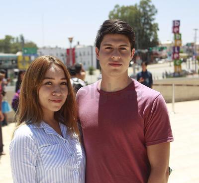 Elena y David.
