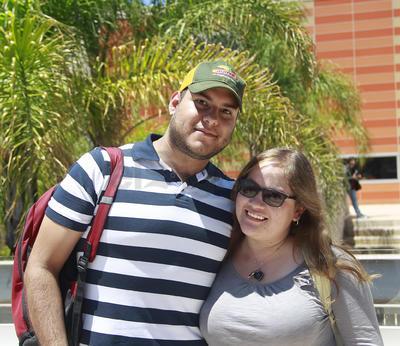 Alejandro y Renata.