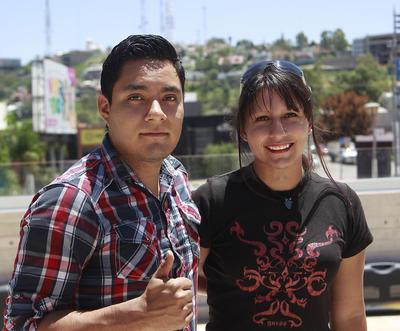 Fernando y Paola.