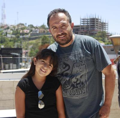 Sofía y Raúl.