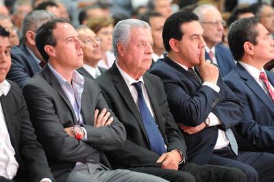 El alcalde electo del Ayuntamiento de Torreón, Jorge Zermeño, estuvo presente en el evento.