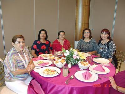 24082017 María de Jesús, Alma, Graciela, Leticia y Laura.