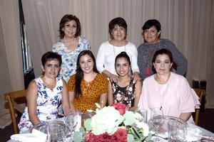 24082017 Caty, Chany, Cuqui, Amira, Doralee, Dora y Camis.