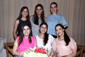 24082017 Pilar, Marifer, Lilia, María, Ana y Sofía.