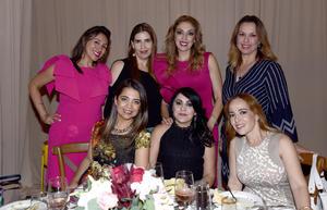 24082017 Tere, Marcela, Vero, Monsi, Marisol, Gris y Lily.