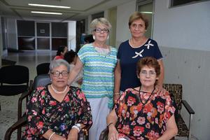 24082017 Ana María, Cecilia, Rosaura y Silvia.