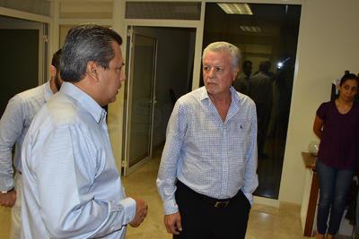 Se reunieron en la Presidencia de Torreón.