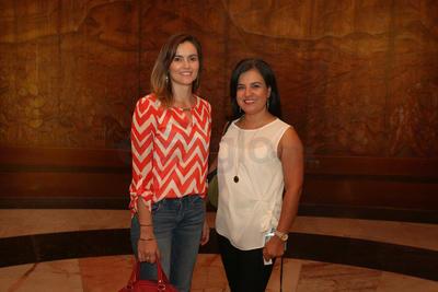 Julieta Álvarez y Lorena Avalos.