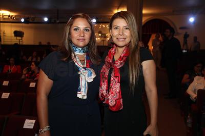 María Fernanda García y Liliana Juárez.
