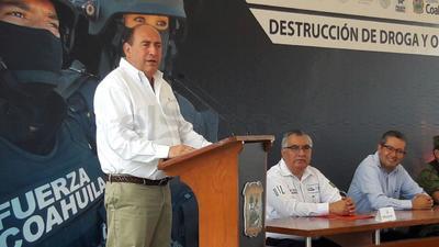 Al evento asistió el gobernador de Coahuila, Rubén Moreira.