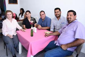 26082017 Sandra, Tere, Alberto, Pablo y Omar.