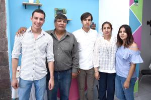 26082017 Jesús Cuauhtémoc, José Carlos, Juan Carlos, Elvira y Miriam Elvira.