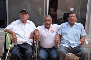 28082017 José María, José Antonio y Juan.
